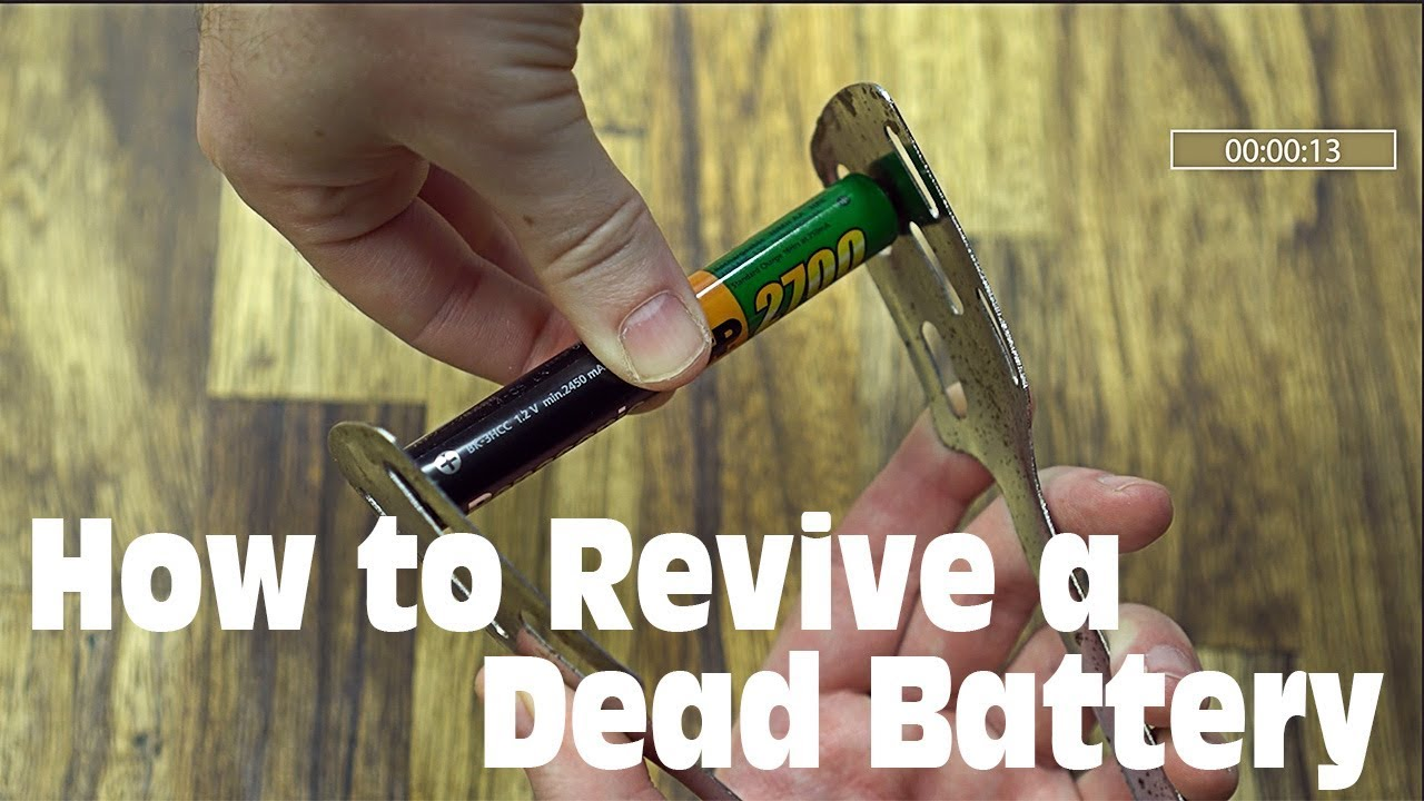 How to Revive a 'Dead' Rechargeable Battery in 30 Seconds