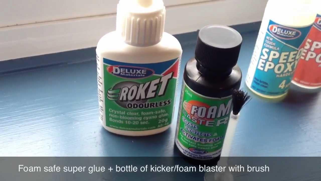 How to glue foam