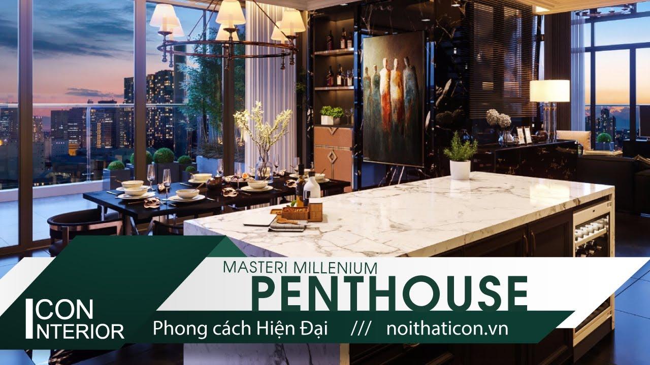 THIẾT KẾ NỘI THẤT MASTERI MILLENIUM PENTHOUSE – Masteri Millenium Penthouse in ICON INTERIOR design