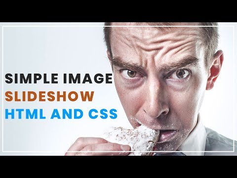 Simple Image Slideshow with html and css | No Javascript No Jquery