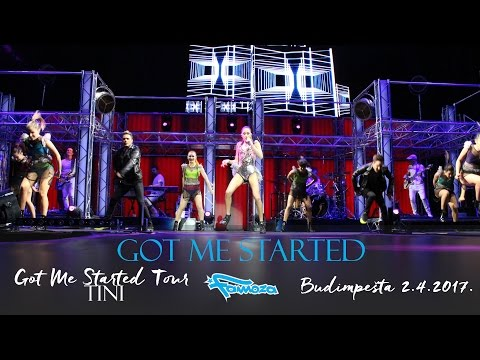 Tini Stoessel -  Got Me Started live in Budapest GMS Tour