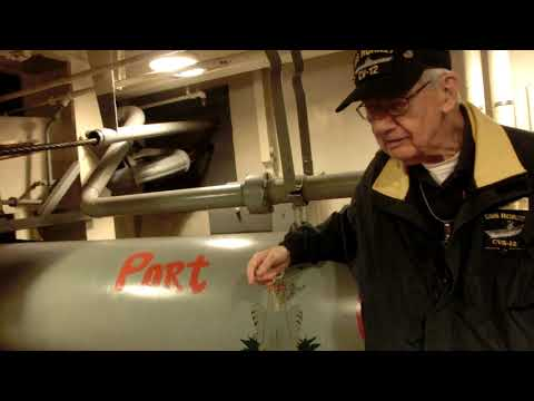 Compressed air Catapult system of an Aircraft Carrier USS Hornet -Part 1