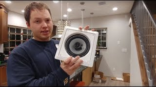How To Install an In Ceiling or In Wall Speaker - Materials Needed & Detailed Instructions