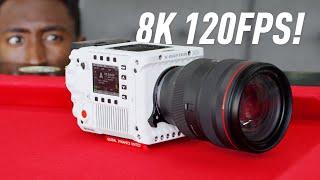 RED V-RAPTOR Impressions: 8K 120fps!