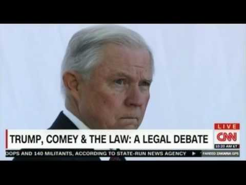 Elizabath Foley vs Laurence Tribe Legal debate over whether Trump acted illegally