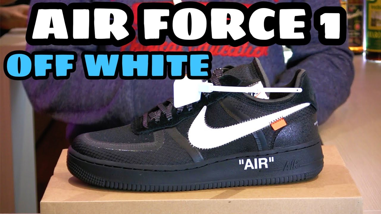 air force 1 x off white nere