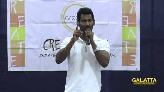 Vishal encourages women education at MOP College
