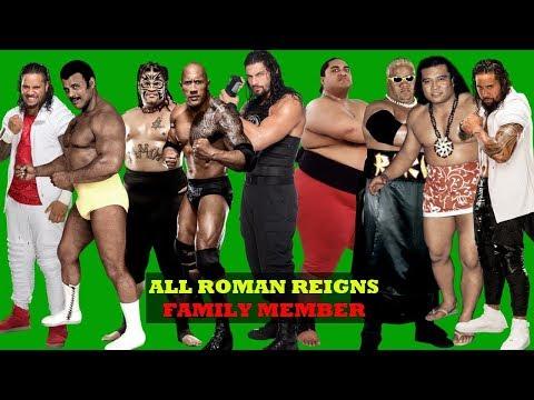Top 15 Best ROMAN REINGS FAMILY WRESTLERS - WWE Anoa'i Family 2018 [HD]