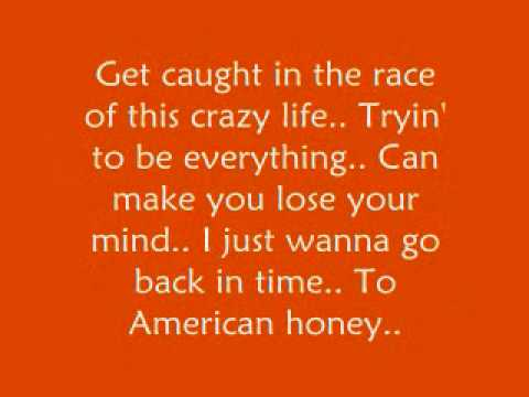 American Honey - Lady Antebellum *Lyrics*