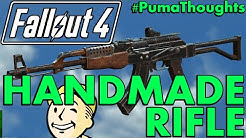 FALLOUT 4: Nuka World DLC - Handmade Rifle Weapon Analysis, Review and Location #PumaThoughts