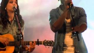 Tal Ft Ralph Beaubrun - Where have you been (cover Rihanna). Live Lisieux.