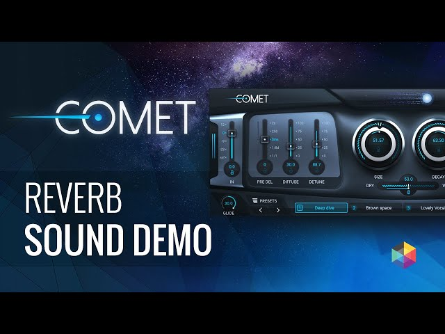Polyverse Comet - Morphing Reverb Sound Demo