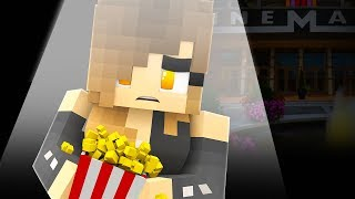 Minecraft - GETTING KICKED OUT OF THE MOVIE THEATER!! (Minecraft Roleplay)