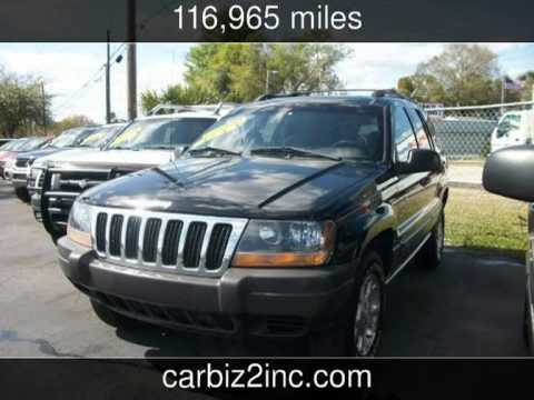2000 jeep grand cherokee laredo used cars orlando florida youtube. Black Bedroom Furniture Sets. Home Design Ideas