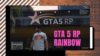 GTA 5 RP. ZORG ПРИЕХАЛ В США. ЧТО ТУТ КАК? (RAINBOW)