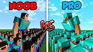 Download Minecraft NOOB vs. PRO: NOOB ARMY vs. PRO ARMY! in Minecraft! Mp3 and Videos