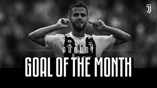 Juventus Goal of the Month - August 2018