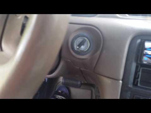 Problemas con llave que no gira para encender el coche toyota camary 1987