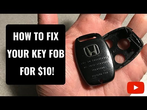 How to Fix A Broken Honda Key Fob for $10!
