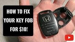 How to Fix A Broken Honda Key Fob for $10!