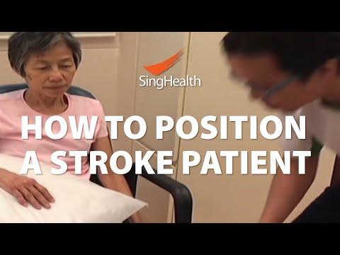How To Position A Stroke Patient