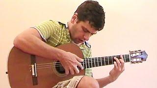 """Summer"" from ""Kikujiro"" with guitar TAB -- Joe Hisaishi"
