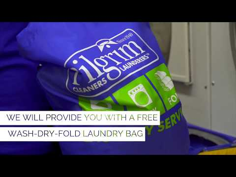 Pilgrim Dry Cleaners Wash-Dry-Fold Laundry Service