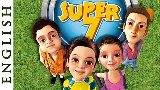 Super Sept (anglais) - Plaisir de dessin animé des Films pour les Enfants - HD