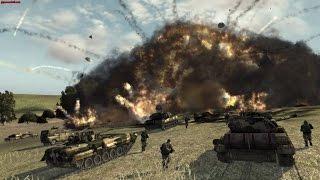 Супер Динамичная Стратегия про Современную Войну ! Игра World in Conflict на ПК