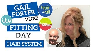 Before & After | Hair System | Gail Porter | Non-Surgical Hair Replacement System for Men/Women