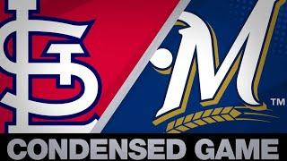 Condensed Game: STL@MIL - 4/15/19