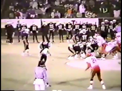 1991 Stilwell Indians at Broken Bow Savages Football