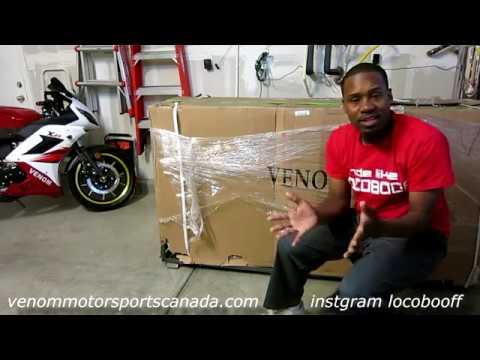 2017 Venom x21 50cc Unboxing & Setup Super Pocket Bike? on