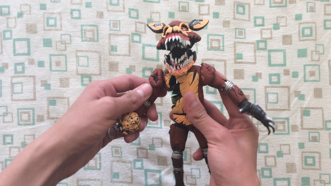 Funko FIve Nights at Freddy's The Twisted Ones TWISTED FOXY 1//6 New