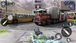 Call of Duty Mobile game hard point game play
