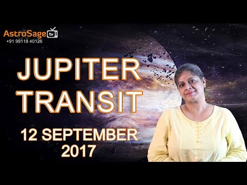 Transit Of Jupiter, 12 September 2017