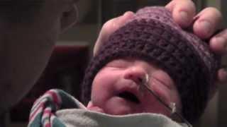 Triplets born 3/3/13 at Salem Hospital Family Birth Center in Oregon