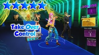 Dance Central 3 - Take Over Control - 5 Gold Stars