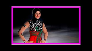 News-Zahra lari, the figure skater's first pro to compete in a headscarf