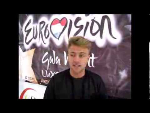 OGAE Luxembourg EuroGalanight 2013: Interview with Tim Schou of A Friend in London (Denmark 2013)
