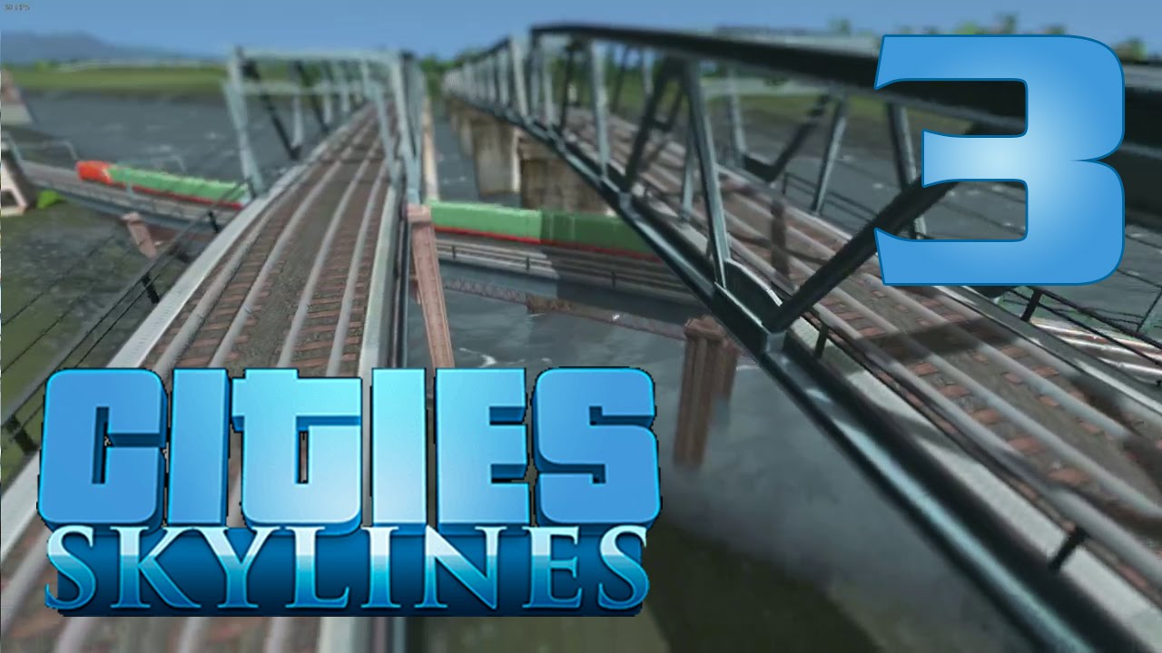 cities skylines how to build cargo train