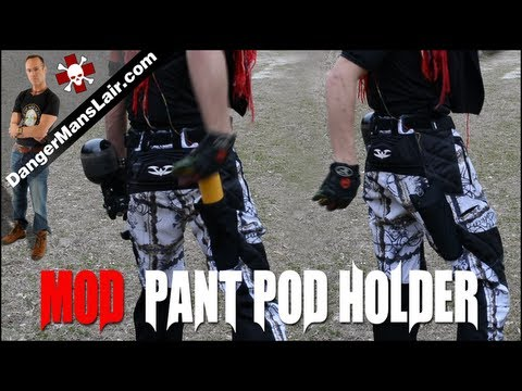 How To Play Paintball: Mod ANY pant for paintball pod ...