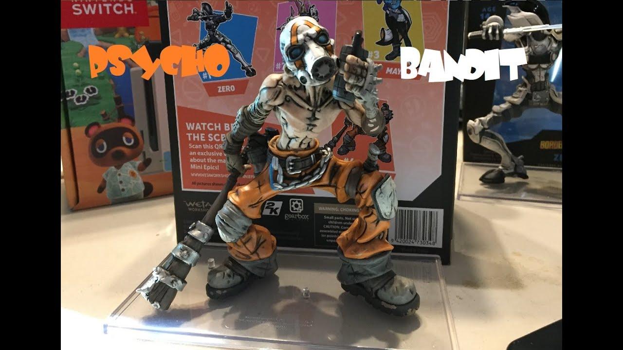 Borderlands 3 Psycho Bandit Mini Epics Vinyl Figure