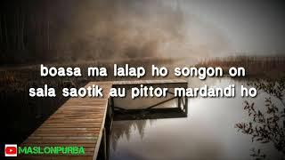 Anju Trio - Santabi Sangapmu (lirik karaoke)