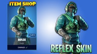 FORTNITE Live PS4 Game Play - *NEW* Item Shop REFLEX SKIN (Playing with SUBSCRIBERS)