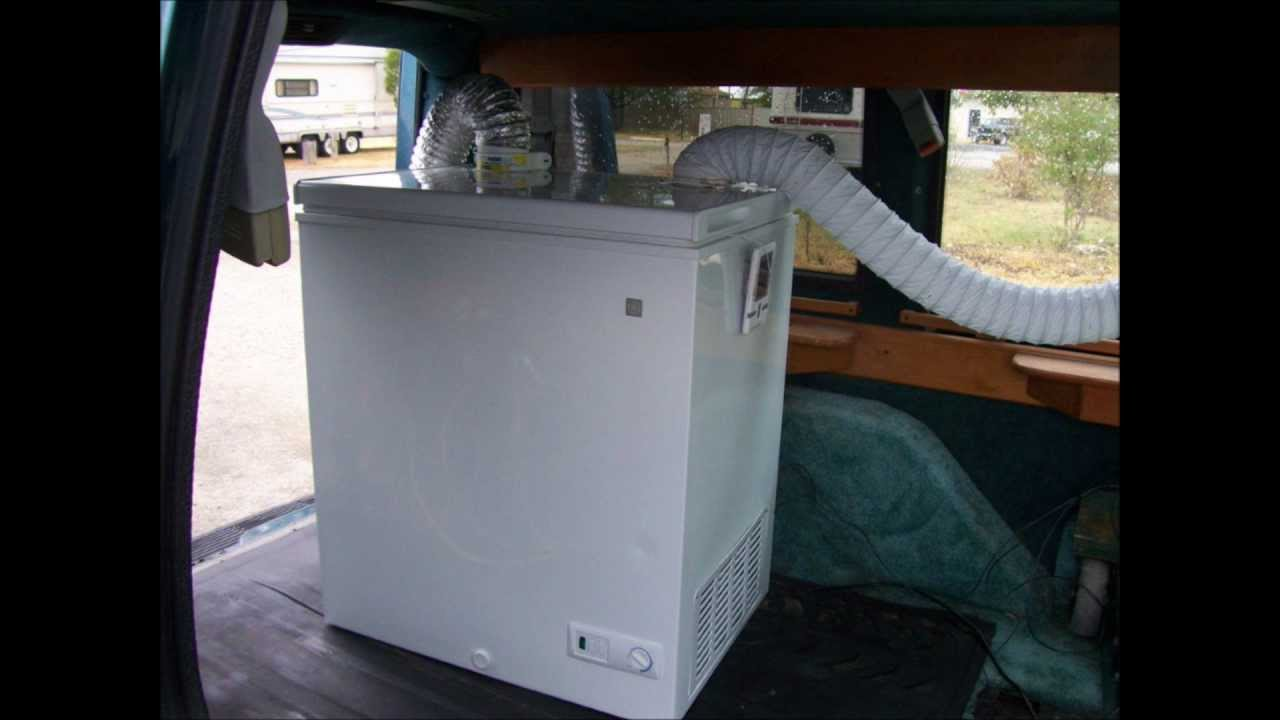 Ice Chest Air Conditioner Redneck Air Conditioner Chest Freezer Conversion - YouTube