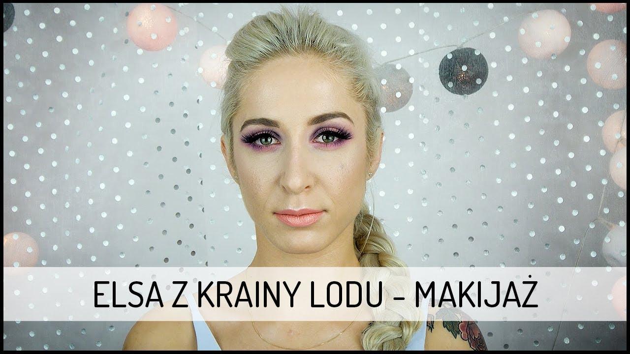 Elsa z Krainy Lodu – MAKIJAŻ | Tutorial DOMODI TV