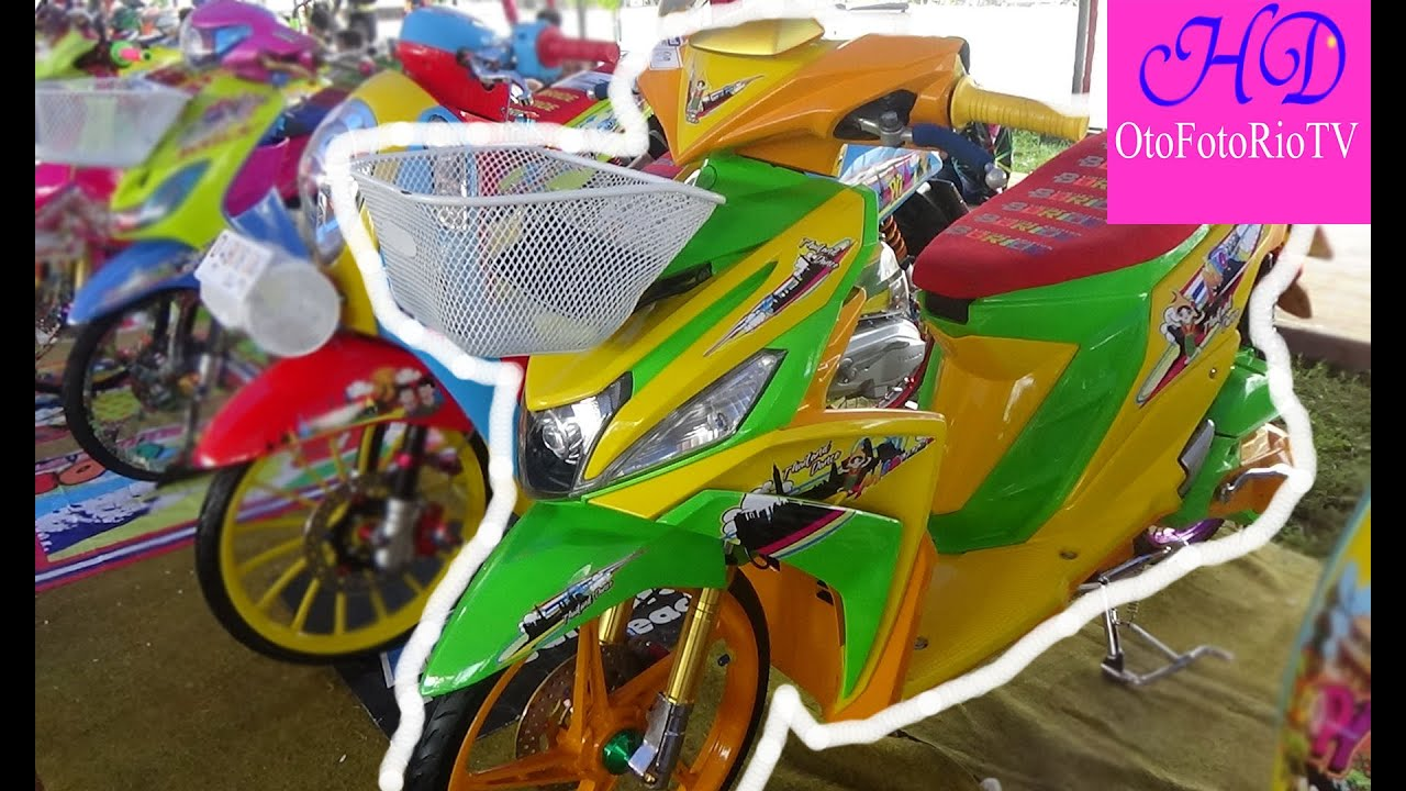 modifikasi mio m3 thailook terkeren
