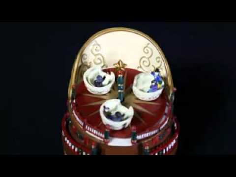 Mini Spinning Music Box