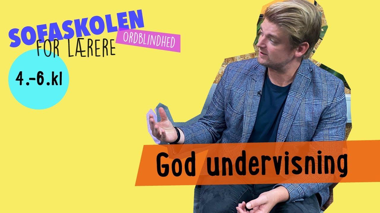 ORDBLINDHED PÅ MELLEMTRINNET / SOFASKOLEN FOR LÆRERE / 1. OKTOBER 2020
